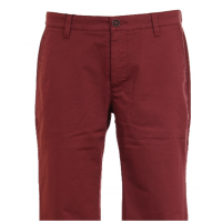Men's casual trousers in Burgundy color. TRUVOR TM