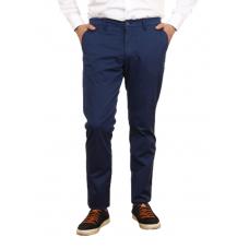 Men's casual trousers in dark blue. TRUVOR TM