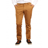 Men's casual trousers in mustard color. TRUVOR TM