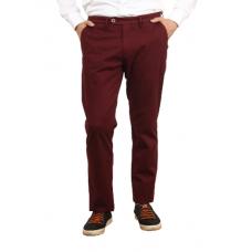 Men's casual trousers in Bordeaux color. TRUVOR TM