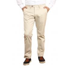 Men's casual trousers in light beige (white sand) color. TRUVOR TM\