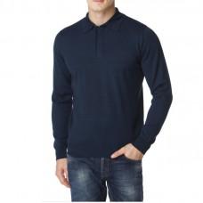 Jumper (Polo) color blue melange TM LARIO COVALDI manufacturer