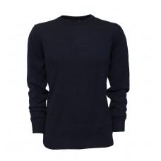 Classic dark blue jumper.