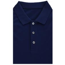 Dark blue Polo shirt made of 100% cotton TM TRUVOR