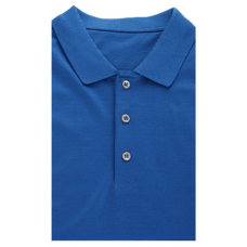 Blue Polo shirt made of 100% cotton TM TRUVOR
