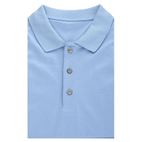 Blue Polo shirt made of 100% cotton TM TRUVOR