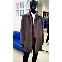Truvor City wool and cashmere coat