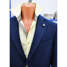 Comfortable jacket without lining in emerald color Truvor City