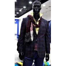 Luxor jacket made of Drago fabric (Linificio in Biella), wool&cashmere, fabric made in Italy