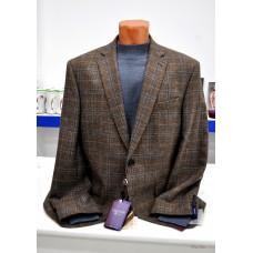 Jacket in a thin check Truvor Luxor