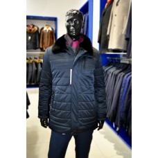 winter Truvor jacket with rabbit fur