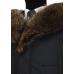 Winter jacket with a fringe of raccoon fur TM TRUVOR