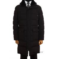 Winter jacket. Long quilted down coat. TM TRUVOR