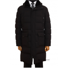 Winter jacket. Long quilted down coat. TM TRUVOR