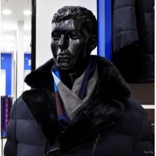 Truvor jacket with Norwegian mink collar