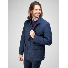 Men's quilted insulated jacket GRITS NAVY BAZIONI